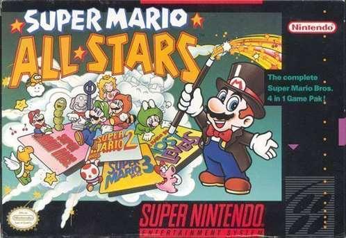 Super Mario All Stars Loveroms
