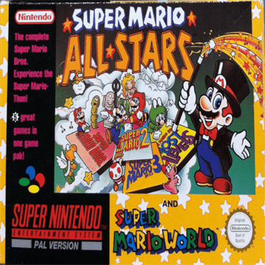 Super Mario All Stars Super Mario World Loveroms