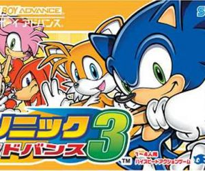 Download 1536 Sonic Advance 3 J Gba Rom Loveroms