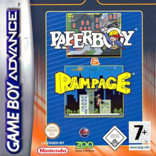 Download 2195 Paperboy Rampage E Gba Rom Loveroms