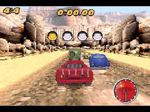 Cars Mater National Gba